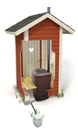 Компостный сухой туалет
