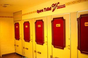 Туалет, Европа
