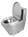 Чаши генуя, напольные унитазы, писсуары, раковины. Продукция для туалетов: антивандальная сантехника из нержавеющей стали.