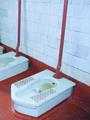 Туалетные интерьеры. Оборудование туалета и ванной комнаты.