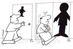 карикатура, фотошутка