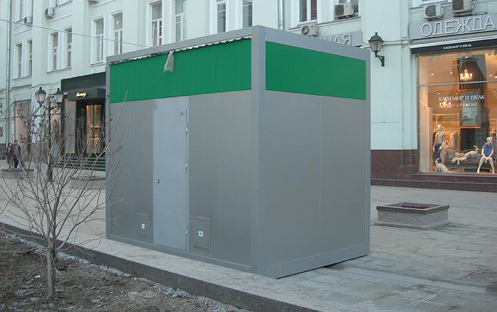 Туалетные модули в Столешниковм переулке