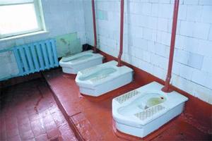 Школьный туалет, Тульская область