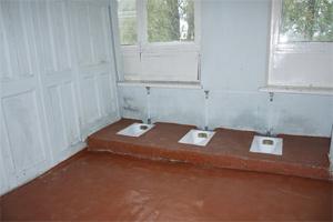 Школьный туалет, Новгородская область