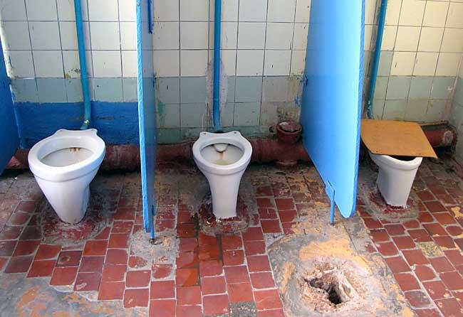 Школьный туалет, Владимирская область
