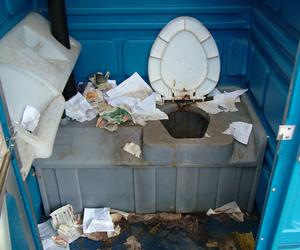 Антисанитарное содержание туалетов в парке