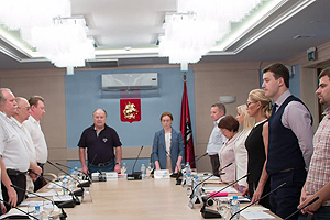 Заседание ОКС политических партий при Московской Городской Думе. 23.06.